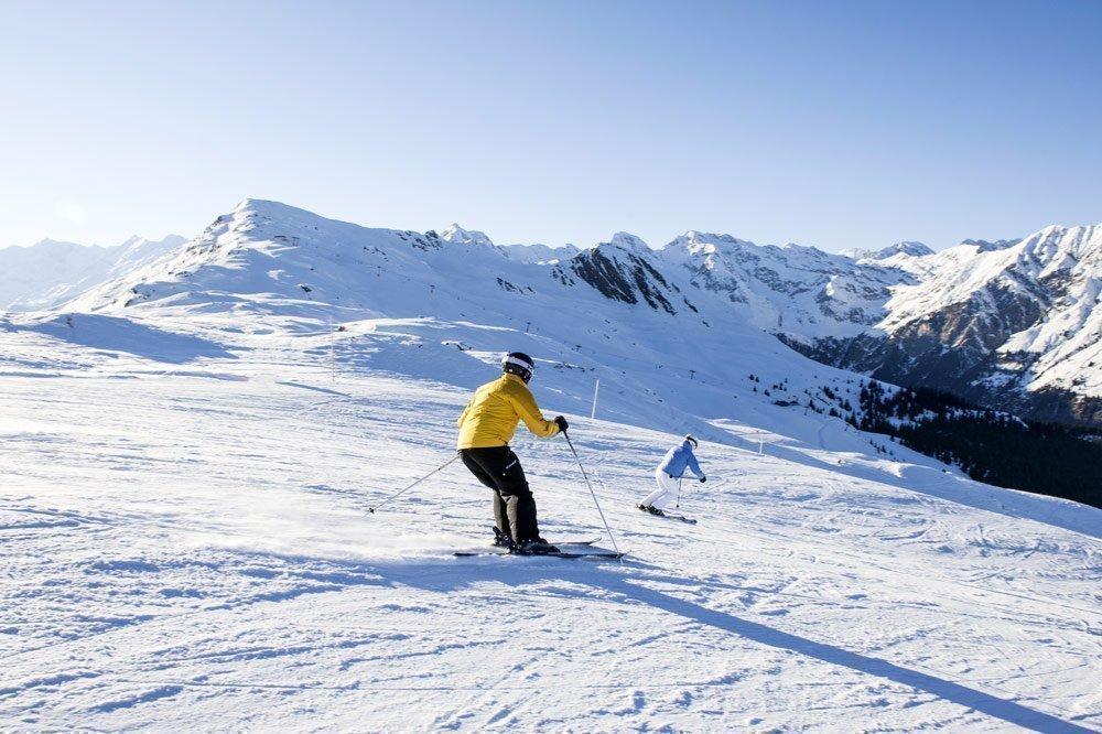 Sci alpino a Racines : tanto divertimento sulle piste in alta montagna